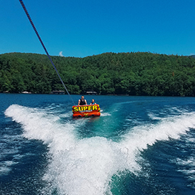 boat tours on Lake George